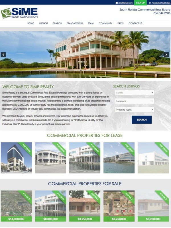 Sime Realty Corp.