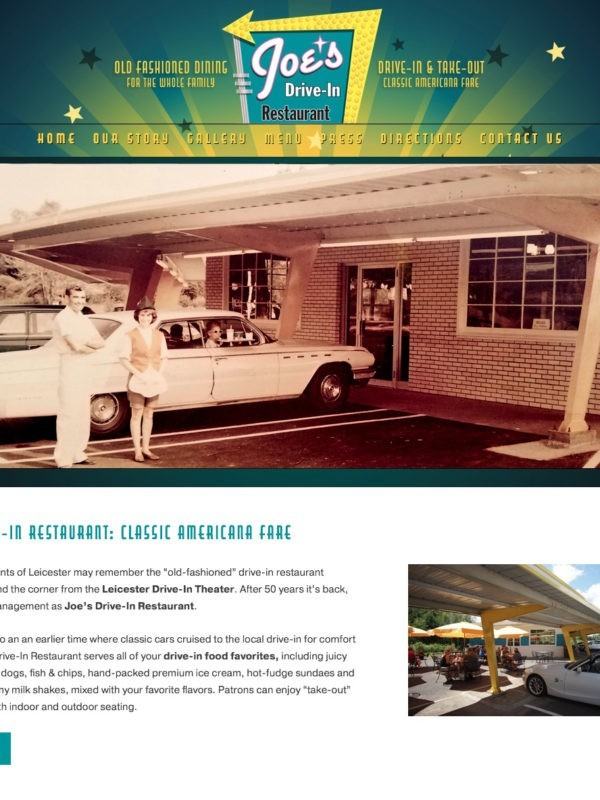Joe's Drive-In Restaurant